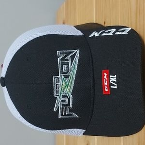 NWT CCM SPS Fuzion hat with COACH  embroidered on side sz L/XL